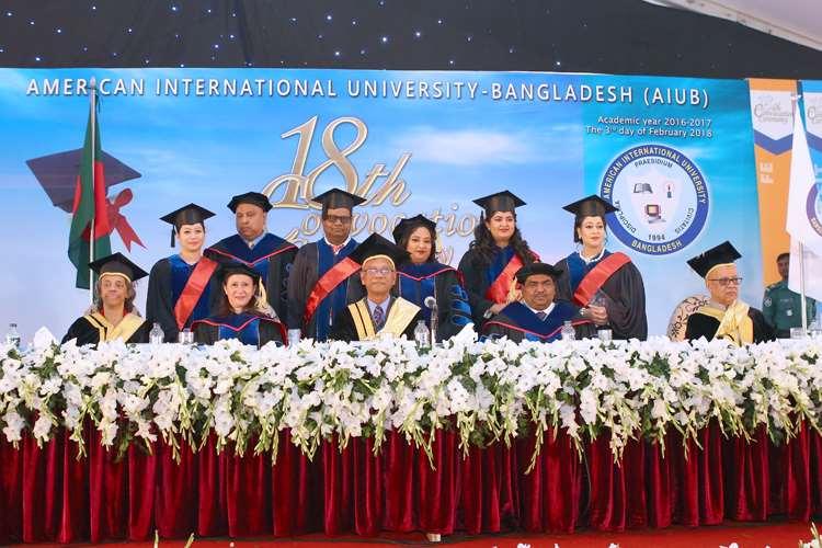 AIUB's 18th Convocation | American International University