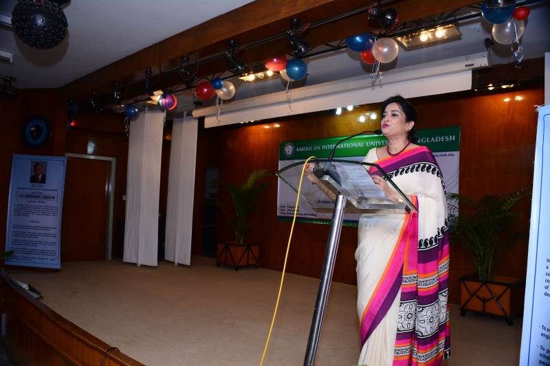 Ms. Selima Ahmad featured as distinguished speaker in the Dr. Anwarul Abedin  lecture series