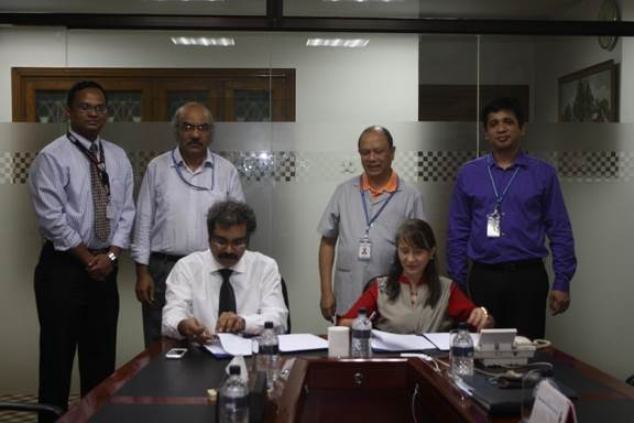 TNT inks MOA with AIUB