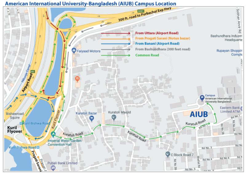 Contact Us   American International University-Bangladesh (AIUB)