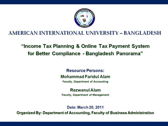 tax evasion in bangladesh literature review