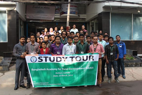 Study tour to BARD, Comilla by the students of Research