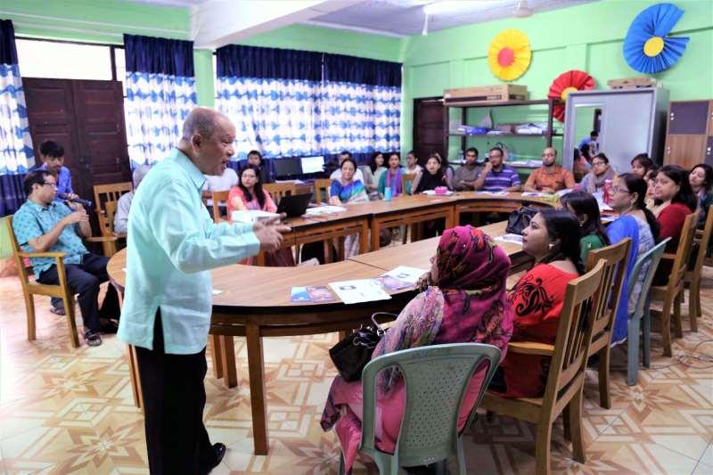 Aiub Outreach Program Organized For St Joseph School Both